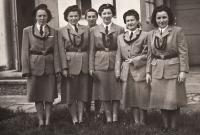 1952, Sokol Netolice, Eva uprostřed