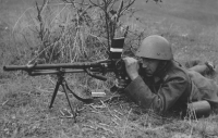 Cvičení čs. armády, 20. 7. 1938, foto ČTK