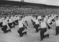 Všesokolský slet 5. července 1938, foto ČTK