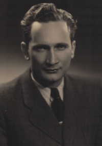 Ján in the times of his employment in the Povážské Engineering Works, circa 1947
