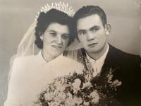 svadobná fotografia - Július Kusý a Elena, rod. Pšenáková