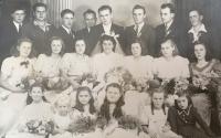 svadobná fotografia, Július Kusý a Elena, rod. Pšenáková