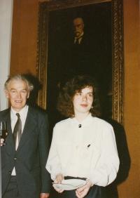 Jaromír Juna a Markéta Junová, Světový kongres rodinné terapie, 1991
