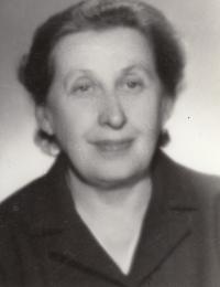 Maminka Ludmila Mátlová, roz. Uherová