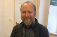 Martin Adámek v klubovně skautského oddílu Origami na pražském Novém Městě.