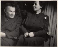 Ota Vohryzek a Anna Smržová, roz. Vohryzková