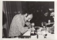 Petr Skoumal u večeře