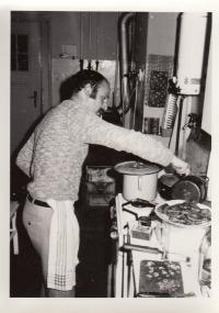 Petr Skoumal vaří