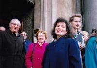 Stan Flache, Edith Morgan, Markéta Junová, Světový kongres rodinné terapie, 1991