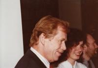 Václav Havel a Markéta Junová, Světový kongres rodinné terapie, 1991