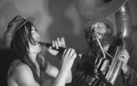 Koncert kapely DG 307 ve Veleni, počátek 70. let