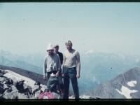 Martin Adámek během přechodu Pyrenejí v roce 1982.