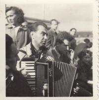 Svitáček, výlet FAMU, 1952