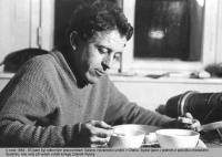 Vletech 1964–1965 byl odborným pracovníkem Galerie výtvarného umění vChebu. Fotografii pořídil jeho kolega Zdeněk Rybka.