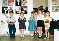 Vernisáž výstavy obrazů a keramiky, Galerie M+M Hranice, 2019