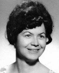 Anna Musilová, portrét 1975