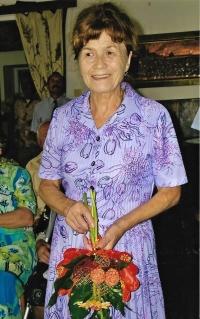 Anna Musilová, čestná občanka města Hranice na Moravě, 2005