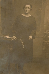 Františk Humler's mother
