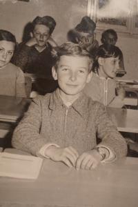 Miroslav Krumpholc v dětství