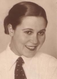 Matka Edith Fischová, později Melcerová