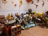 Galerie připravena na velikonoční výstavu 2020, která se kvůli pandemii koronaviru neuskutečnila
