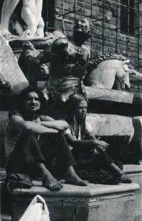 Z cest po Evropě - Florencie, 1969