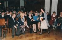 Cena Olgy Havlové – poděkování za vynikající realizaci projektů (Česká unie nevidomých a slabozrakých), 1997