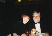 Lidmila Lamačová with Ivan Havel, around 2000