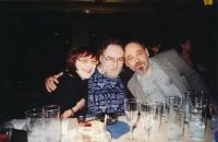 S Joskou Skalníkem a Johnem Bokem, kolem roku 2000