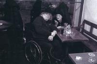 Lidmila s Janem Kašparem, kolem roku 2000