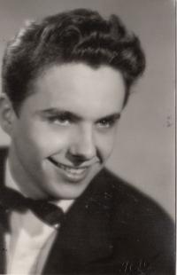 Ivan Kalina, maturita, Plzeň, 1960