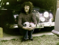 Joe Kučera a jeho jaguar - Norwich, sedmdesátá léta