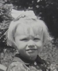Jarmila Ježová kolem roku 1954