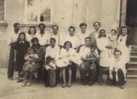 Rodinné foto - Růžičkovi, konec 40. let