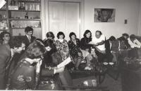 Bytový koncert Souboj s Mistry, publikum