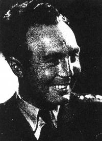 Dobová fotografie Otty Brücka; kolem roku 1945