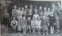 Školní fotografie z Vchynic