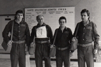 Soutěž spojovacích jednotek ve Vsetíně při Federálním ministerstvu všeobecného strojírenství, konec 70. let