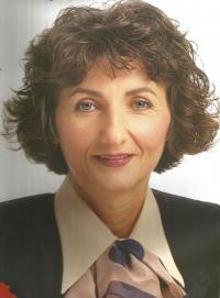 Jiřina Nováková, kandidátka ODA - plakát k volbám 1996