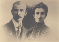 Praprarodiče pamětníka (rodiče babičky pamětníka) - Alžběta a Jan Bittnerovi