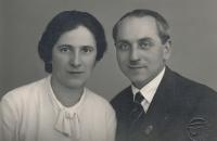 Rodiče pamětníka - Pavla a František Borškovi