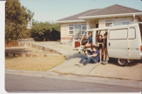 In Adelaide with friends (1985)