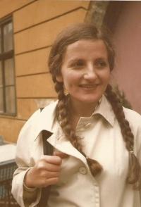 Hana, sestra Jiřiny Novákové, setkání v Budapešti po 7 letech, 1978