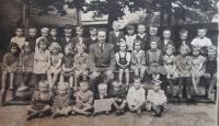 Školní rok v brozanské obecné škole