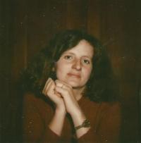 Hana, sestra Jiřiny Novákové, Švýcarsko 1974