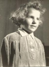 Hana, sestra Jiřiny Novákové, Praha 1951