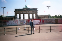 In front of the Brandenburg Gate (1989)
