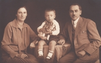 Rodina Borškova, cca 1930