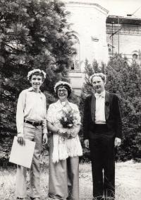 Druhá svatba na Sychrově, 1971