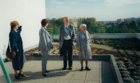 Beseda se studenty, Gymnázium Holice, 2000